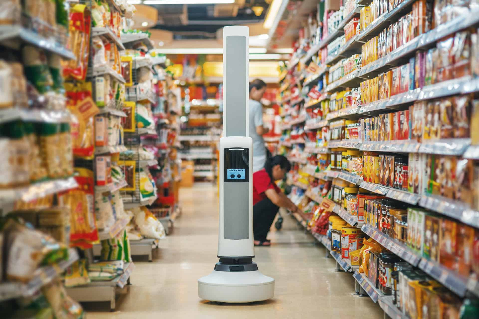New Robot Will Keep Your Supermarket's Shelves Stocked