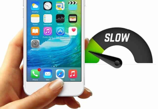 iPhone running slow - try our iPhone performance tips