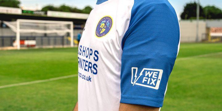 WeFix sponsors Havant & Waterlooville FC in first national league season