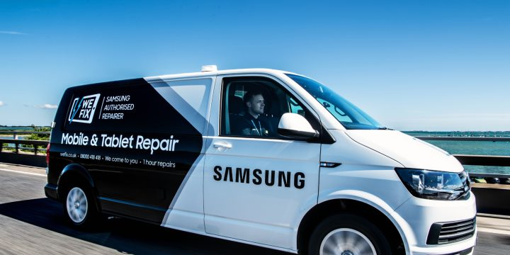Samsung Electronics UK and WeFix 'We Come To You' Doorstep Repair – voted Best Service and Repair at Mobile News Awards